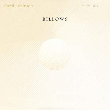 Carol Robinson| Billows